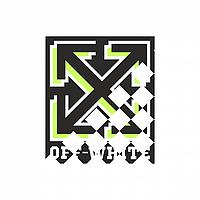 Декор на свитеры термо Логотип [Свой размер и материалы в ассортименте]