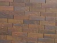 Кирпич клинкерный Керамейя КлинКерам 250x120x65мм Рустика Гранат 6 Пр1 36% без торкрета(без посыпки)