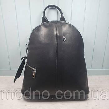 Жіночий стильний шкіряний рюкзак на одне відділення