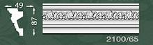 Плінтус стельовий з орнаментом з пінопласту Baraka Dekor 2100/65