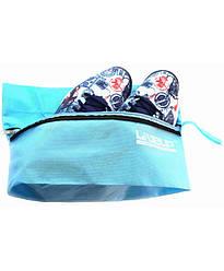 Сумка LiveUp Shoe bag голубой S/M