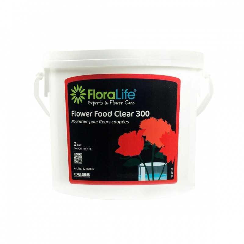 Подкормка floralife для срезанных цветов 2 кг CLEAR 300
