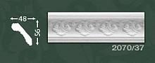 Плінтус стельовий з орнаментом з пінопласту Baraka Dekor 2070/37