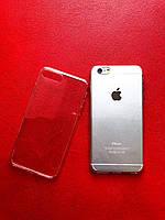 Прозрачный силиконовый чехол для IPhone