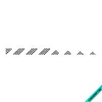 Аппликации, латки на куртки Полоса (Стекло, 2мм-черн., 2.8мм-черн.)