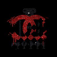 Термопереводки, латки на ботильоны термо Логотип (Стекло, 2мм-красн., 2мм-черн., 4мм-черн.)