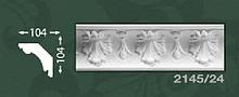 Плінтус стельовий з орнаментом з пінопласту Baraka Dekor 2145/24