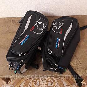 OL105 Мотосумки боковые Oxford X50 PANNIERS Черные 50 литров