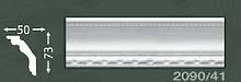 Плінтус стельовий з орнаментом з пінопласту Baraka Dekor 2090/41