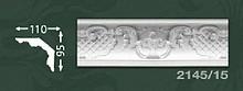 Плінтус стельовий з орнаментом з пінопласту Baraka Dekor 2145/15