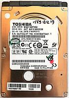 """Жесткий диск для ноутбука Toshiba 500GB 2.5"""" 8MB 5400rpm 6Gb/s (MQ01ABF050) SATAIII Б/У, фото 1"""
