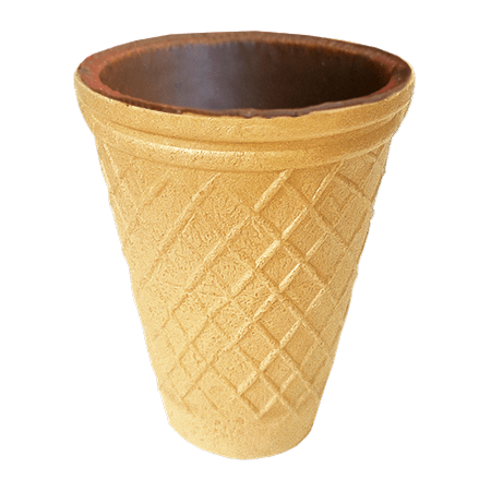 """Вафельні заготовки """"Стаканчик до кави"""" (Yummy cup 90) глазурований 37г"""