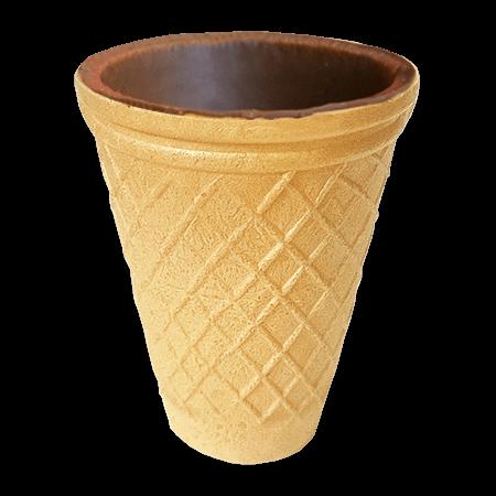 Вафельні загтовки Стаканчик до кави (Yummy cup 90) глазурований  37г