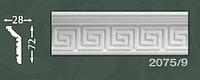 Плинтус потолочный с орнаментом из пенопласта Baraka Dekor 2075/9