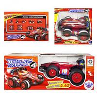 Машинка перевертыш  для мальчиков, цвет красный, модель М-00044, в коробке