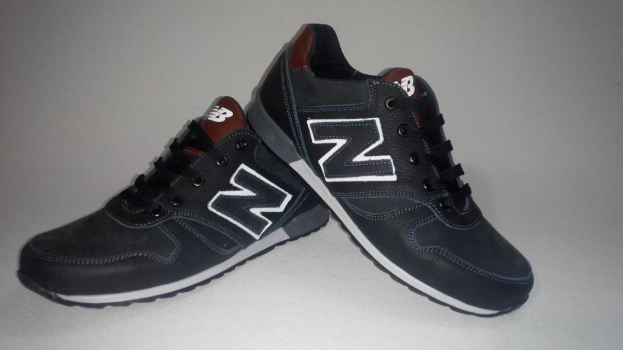 Кроссовки мужские New Balance (черные с коричневыми лаковыми вставками) -  Vencer desing shoes 9bf4d604504