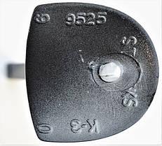 Каблук женский пластиковый Сталекс 9525 глянец р.1-3  h-8,7-9,2 см., фото 3