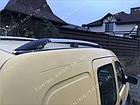 Рейлинги на крышу Renault Kangoo 1998-2008 полированный алюминий, фото 5