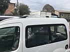 Рейлинги на крышу Renault Kangoo 1998-2008 полированный алюминий, фото 6