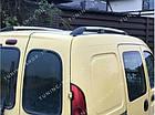 Рейлинги на крышу Renault Kangoo 1998-2008 полированный алюминий, фото 3