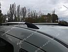 Рейлинги на крышу Renault Kangoo 1998-2008 полированный алюминий, фото 8