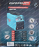 Зварювальний апарат Grand ММА-360 (дисплей), фото 8