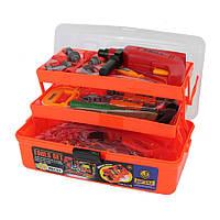Детский набор инструментов в ящике чемоданчике 2108