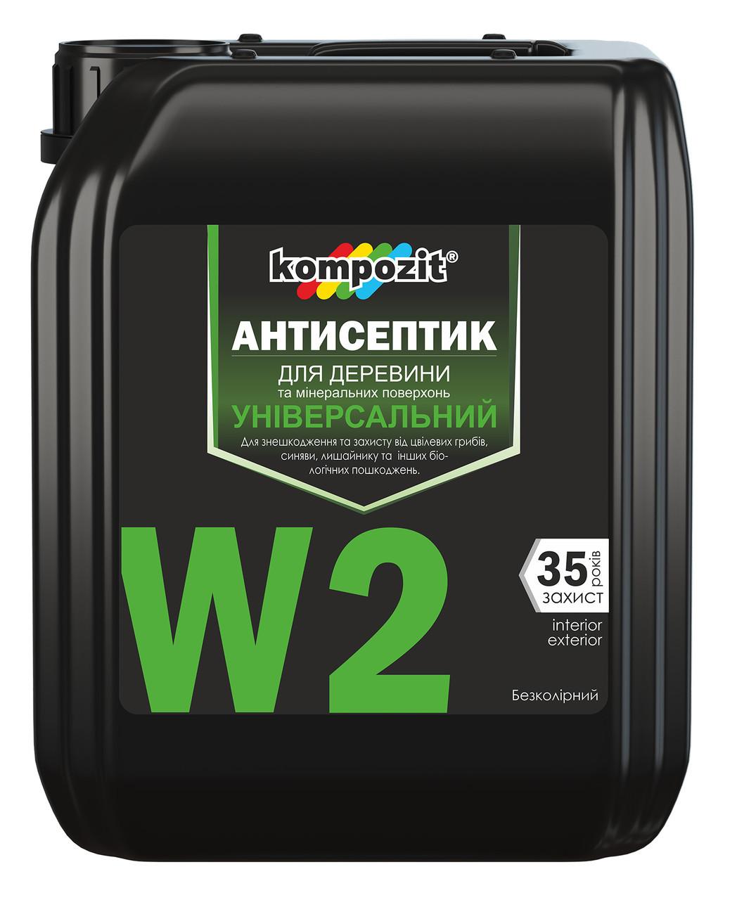 Антисептик универсальный Kompozit W2 (1 л)