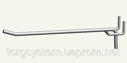 Крючок одинарный L - 200 4мм (белый)