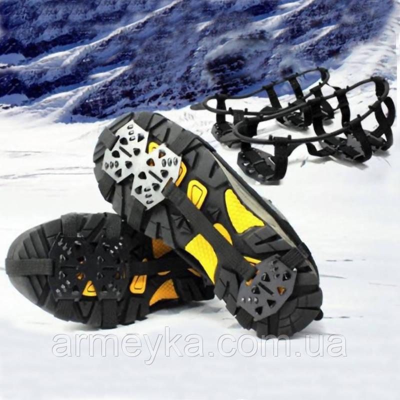 Льодоступи Crampons Anti-Skid Shoe Cover.