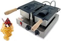 Аппарат для вафель рыбок GoodFood WB1CF