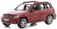 Автомодель Bburago - Mercedes Benz GLK-Class червоний, сріблястий, 1:32 Автомодель - MERCEDES BENZ GLK-CLASS, фото 1