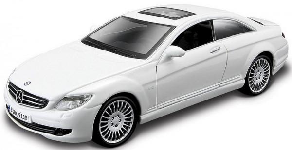 Автомодель Bburago - Mercedes-Benz CL-550 белый, черный, 1:32