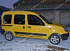 Рейлинги на крышу Renault Kangoo 1998-2008 серый металлик, фото 4