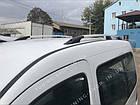 Рейлинги на крышу Renault Kangoo 1998-2008 серый металлик, фото 5
