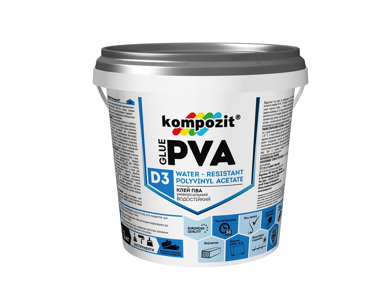 Клей ПВА Kompozit (1 кг)
