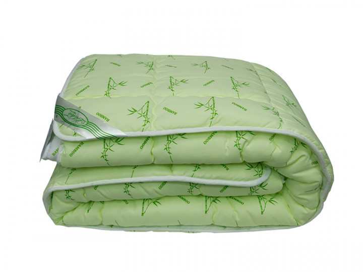Одеяло Bamboo Бамбук 200х215 стеганное Премиум Качество