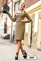 Платье 12-0997 - св.коричневый: M L XL XXL, фото 1