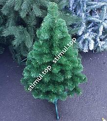 Елка искусственная ПВХ 100 см ▶ Зелёная новогодняя ель 1 м ▶ Ялинка штучна