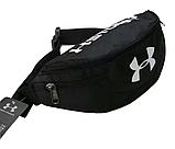 Поясна сумка Under Armour Storm 1(чорна) сумка на пояс, фото 7
