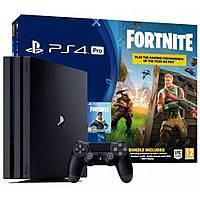 Стаціонарна ігрова приставка Sony PlayStation 4 Pro PS4 Pro 1TB + Fortnite