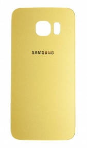 Задняя крышка Samsung G925F Galaxy S6 EDGE золотистая, фото 2