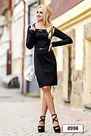 Платье 12-0996 - черный: M L XL XXL, фото 1