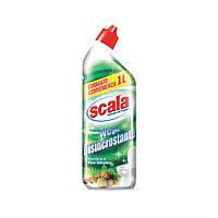 Гель для уборки туалета с антиизвестняковым эффектом и ароматом хвои SCALA WC gel Disincrostante 1000 ml