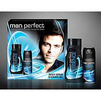 Man Perfect подарочный набор Essence 2в1