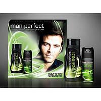 Man Perfect подарочный набор Insinct 2в1