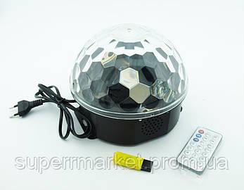 Музыкальный дискошар KTV Ball Lamp 105/34 с USB и пультом, фото 2
