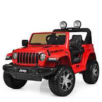 Детский электромобиль Джип M 4176EBLR-3 красный