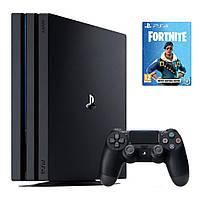 Стаціонарна ігрова приставка Sony PlayStation 4 Slim (PS4 Slim) 500GB + Fortnite