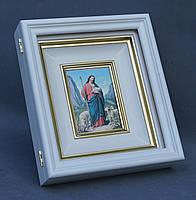 Киот белый для венчальной иконы., фото 4